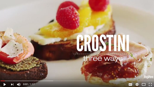 How to Make Crostini Three Ways