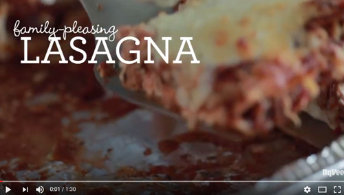 How to Make Family-Pleasing Lasagna