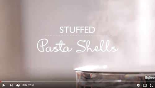 How to Stuff Pasta Shells