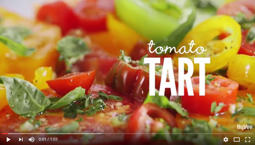 How to Make Tomato Tart