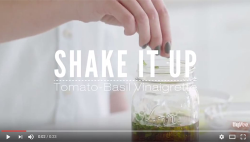How to Make Tomato Basil Vinaigrette